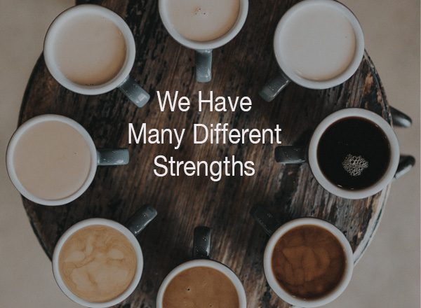 Learning, Strengths, Coffee