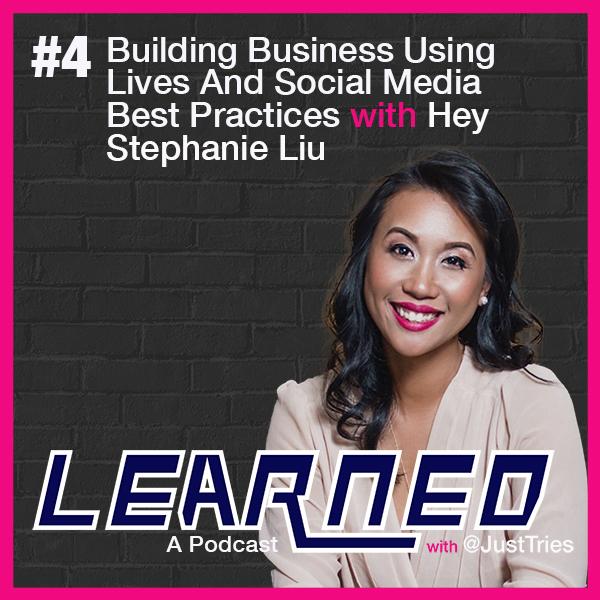 Hey Stephanie Liu, The Learned Podcast, Social Media, Video